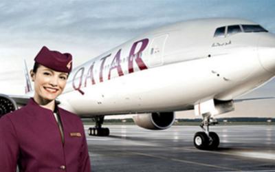 Qatar Airways inauguró este domingo el vuelo comercial más largo del mundo