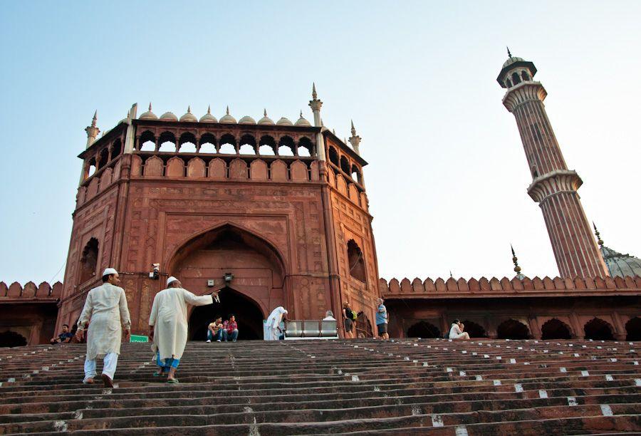 Jama-Masjid-mezquita-de-Delhi