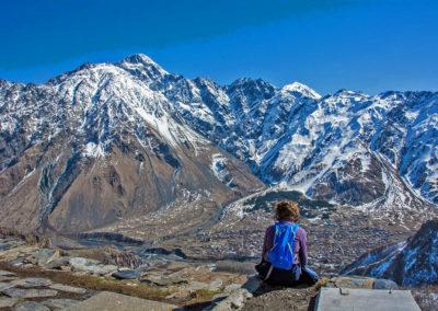 Kazbegi montaña