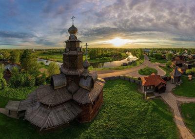 Museo-de-la-arquitectura-en-madera-en-Suzdal-Rusia