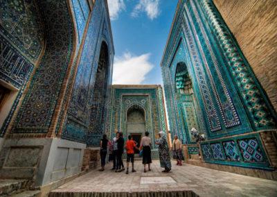 Shah-I-Zinda-Memorial-Complex-Uzbekistan