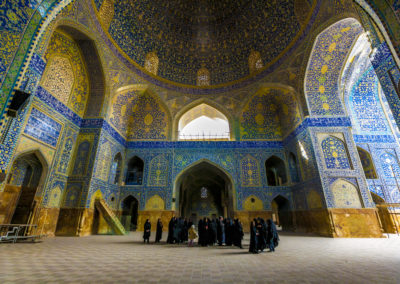 The ceilings of Isfahan