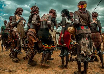 Tribus de Etiopia. Tribu Hammer