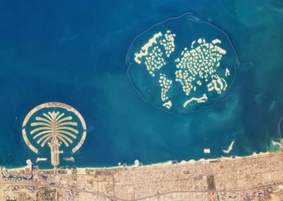 Dubai. Islas artificiales.