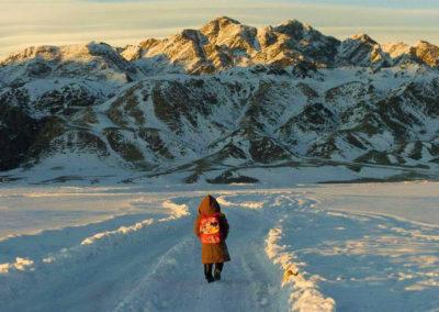 Montañas Altai en Mongolia