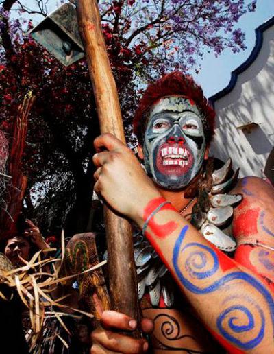La antropología romancea con el arte en el Carnaval de San Martín Tilcajete